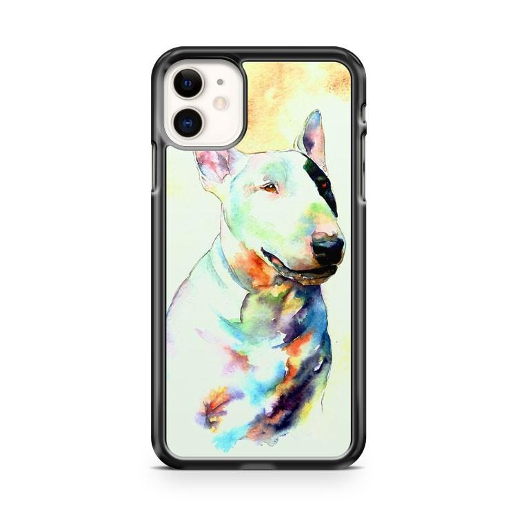 Bull Terrier Chien Chiots iphone 5/6/7/8/X/XS/XR/11 pro case cover