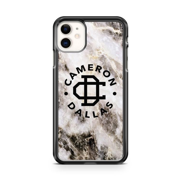 cameron dallas cool marble 3 iphone 5/6/7/8/X/XS/XR/11 pro case cover