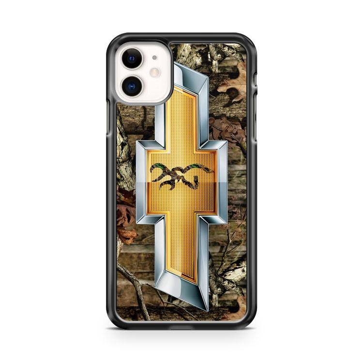 CAMO BROWNING CHEVY iphone 5/6/7/8/X/XS/XR/11 pro case cover