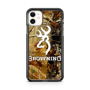 CAMO BROWNING iphone 5/6/7/8/X/XS/XR/11 pro case cover