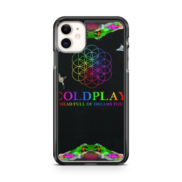 COLDPLAY HEAD FULL OF DREAM TOUR iphone 5/6/7/8/X/XS/XR/11 pro case cover