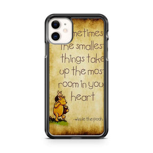 Disney Winnie The Pooh Friendship Quote iphone 5/6/7/8/X/XS/XR/11 pro case cover