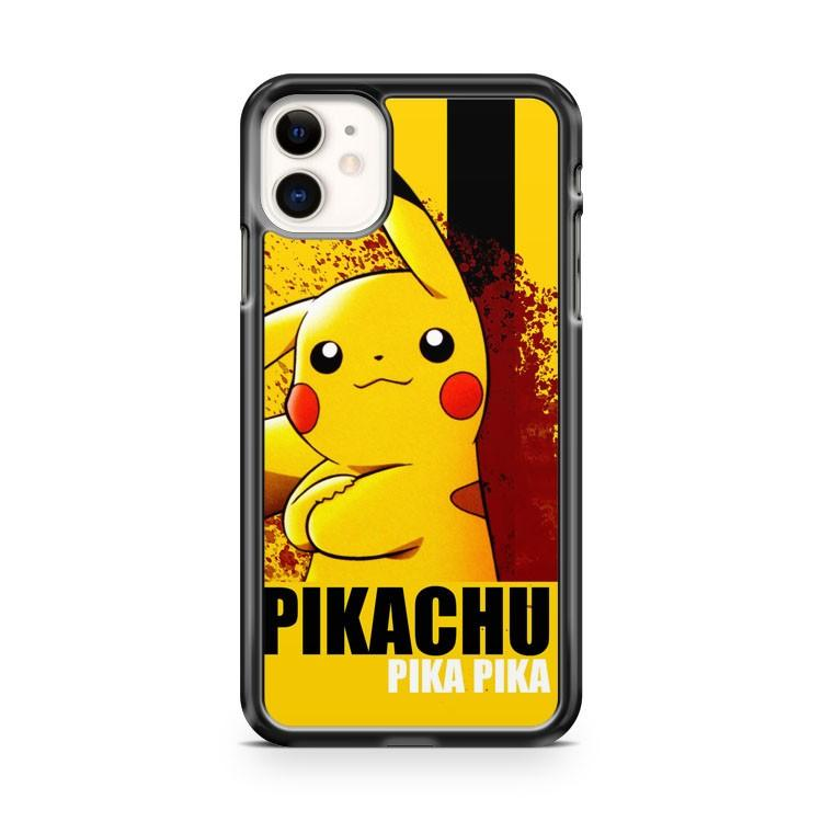 Pokemon Pikachu Face iphone 5/6/7/8/X/XS/XR/11 pro case cover