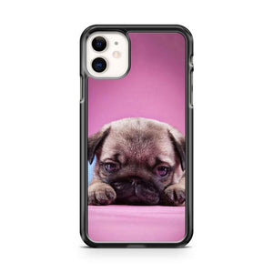 PUG Happy Cute Dog Smiling Puppy iphone 5/6/7/8/X/XS/XR/11 pro case cover
