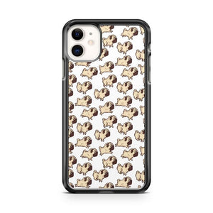 Pug Pattern 2 iphone 5/6/7/8/X/XS/XR/11 pro case cover
