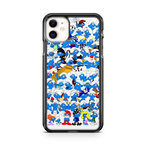 Smurf Aladdin Lamp iphone 5/6/7/8/X/XS/XR/11 pro case cover