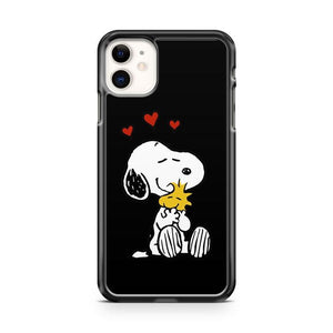 Snoopy Hug iphone 5/6/7/8/X/XS/XR/11 pro case cover