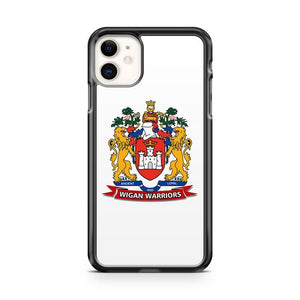 Wigan Warriors Crest Football iphone 5/6/7/8/X/XS/XR/11 pro case cover