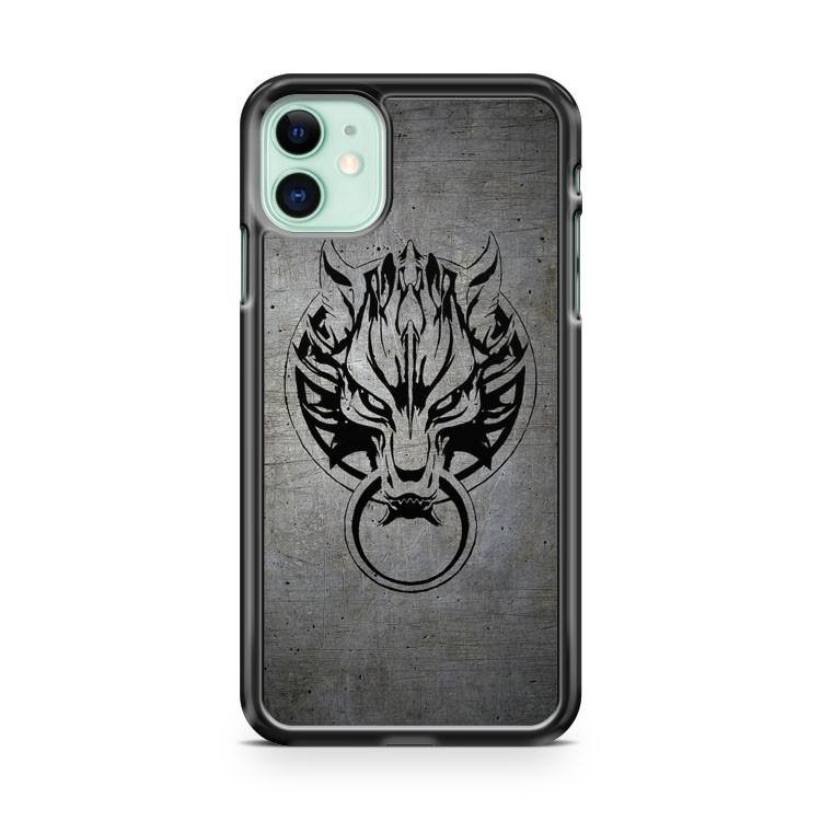 Cloud Strife s Wolf Emblem 2 iphone 5/6/7/8/X/XS/XR/11 pro case cover