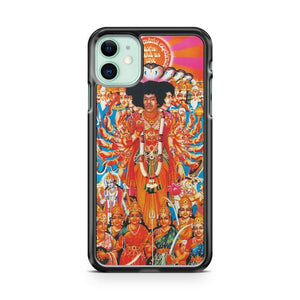 Jimi Hendrix 6 iphone 5/6/7/8/X/XS/XR/11 pro case cover