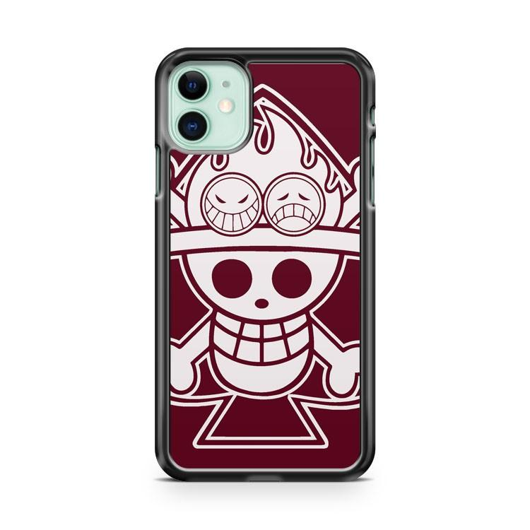 One Piece cool pirates like mafia iphone 5/6/7/8/X/XS/XR/11 pro case cover