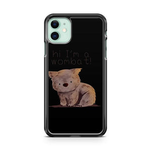 Wombat iphone 5/6/7/8/X/XS/XR/11 pro case cover
