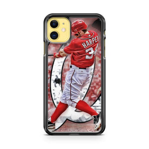 Bryce Harper Washington Nationals iphone 5/6/7/8/X/XS/XR/11 pro case cover