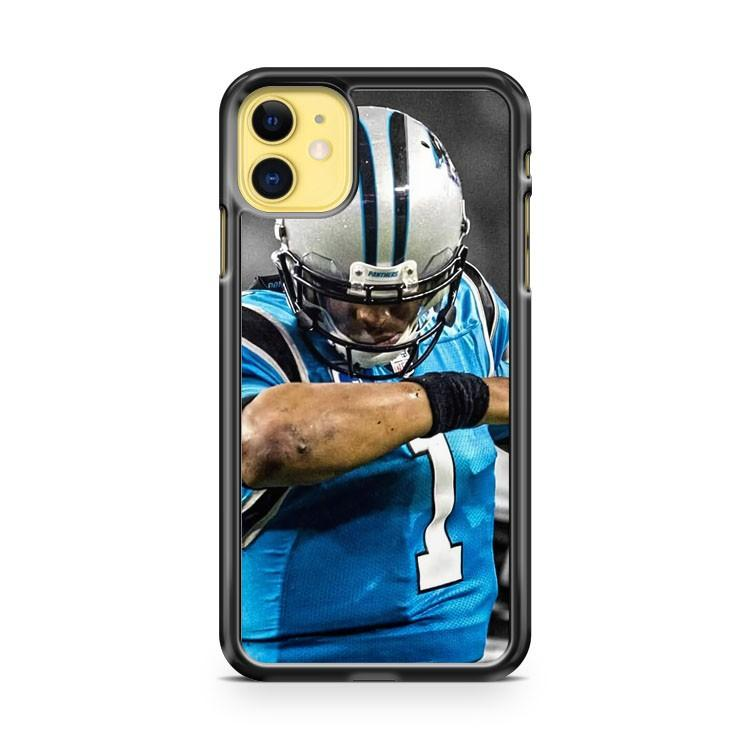 CAM NEWTON CAROLINA PANTHERS DAB 2 iphone 5/6/7/8/X/XS/XR/11 pro case cover