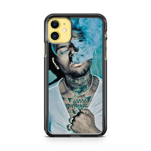Chris Brown Tattoo Smoking iphone 5/6/7/8/X/XS/XR/11 pro case cover