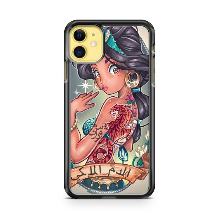 Disney Princess Floral iphone 5/6/7/8/X/XS/XR/11 pro case cover