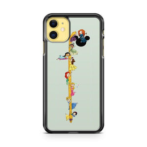 Disney Princess Pokemon Rapunzel Jolteon Fletchling iphone 5/6/7/8/X/XS/XR/11 pro case cover