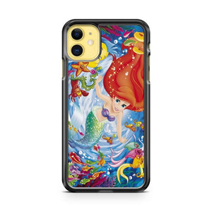 Disney Princess Stained Glass Window iphone 5/6/7/8/X/XS/XR/11 pro case cover