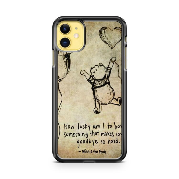 Disney Winnie The Pooh Eeyore iphone 5/6/7/8/X/XS/XR/11 pro case cover