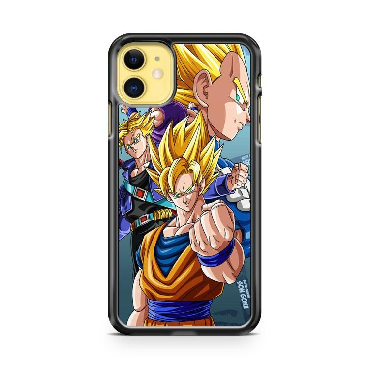 DRAGON BALL Z CHIBI GOKU 2 iphone 5/6/7/8/X/XS/XR/11 pro case cover