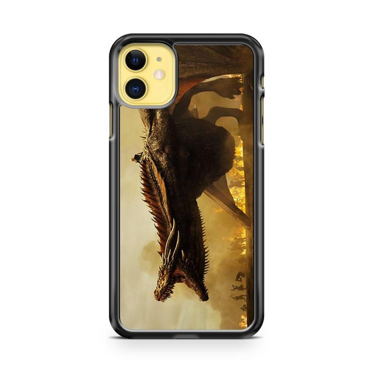 GAME OF THRONES DRAGON DRACARYS QUEEN FIRE iphone 5/6/7/8/X/XS/XR/11 pro case cover