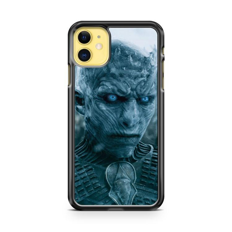 game of thrones white walker king iphone 5/6/7/8/X/XS/XR/11 pro case cover