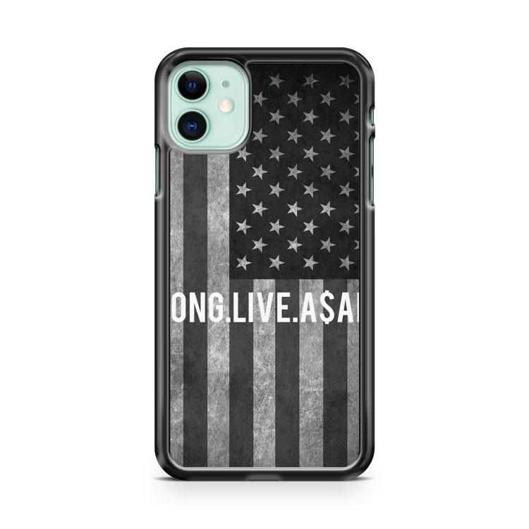 Purple American Flag Asap iphone 5/6/7/8/X/XS/XR/11 pro case cover