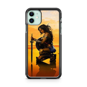 wonder woman new poster iphone 5/6/7/8/X/XS/XR/11 pro case cover