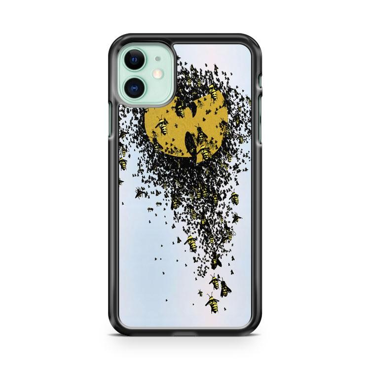 WU TANG KILLER BEES Logo iphone 5/6/7/8/X/XS/XR/11 pro case cover