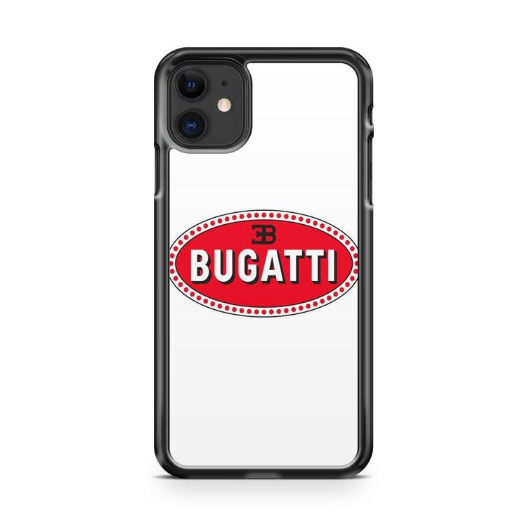 Bugatti Logo 1 iphone 5/6/7/8/X/XS/XR/11 pro case cover - Goldufo Case