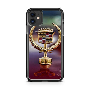 Cadillac Gold iphone 5/6/7/8/X/XS/XR/11 pro case cover