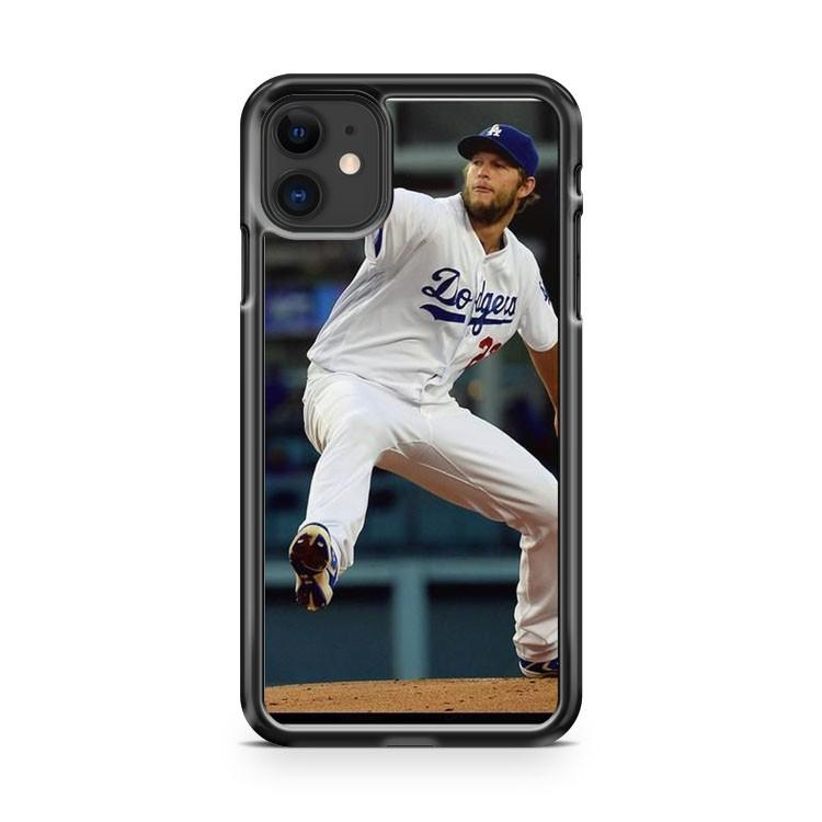 Clayton Kershaw Los Angeles Dodgers 5 iphone 5/6/7/8/X/XS/XR/11 pro case cover