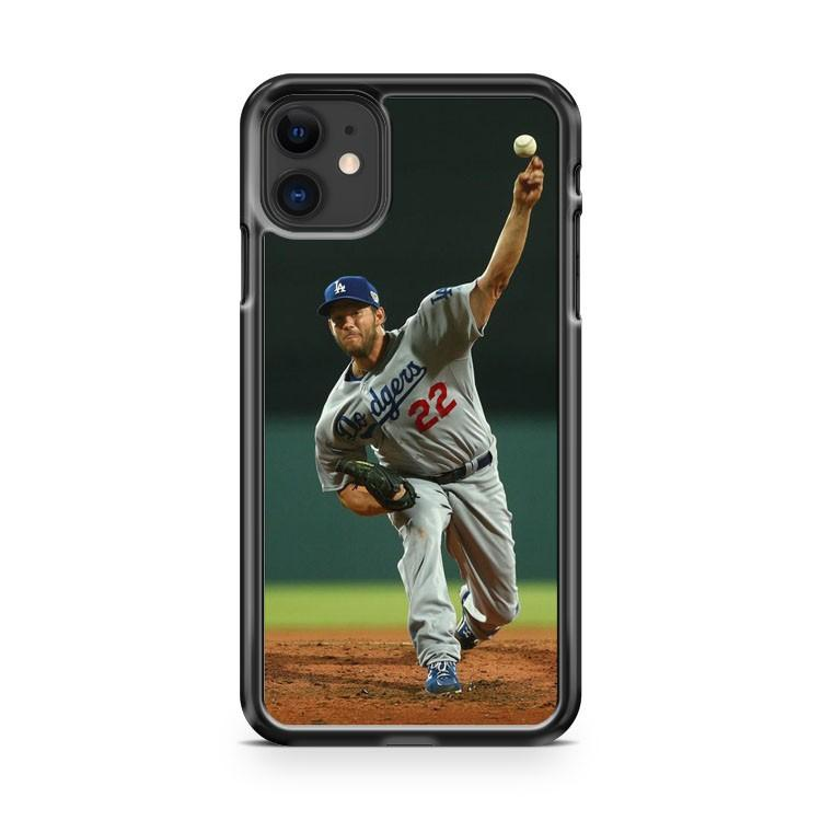 Clayton Kershaw Los Angeles Dodgers 6 iphone 5/6/7/8/X/XS/XR/11 pro case cover