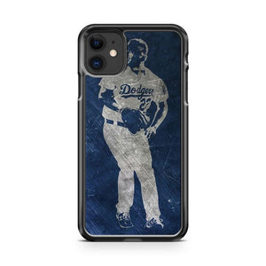 Clayton Kershaw Los Angeles Dodgers 9 iphone 5/6/7/8/X/XS/XR/11 pro case cover