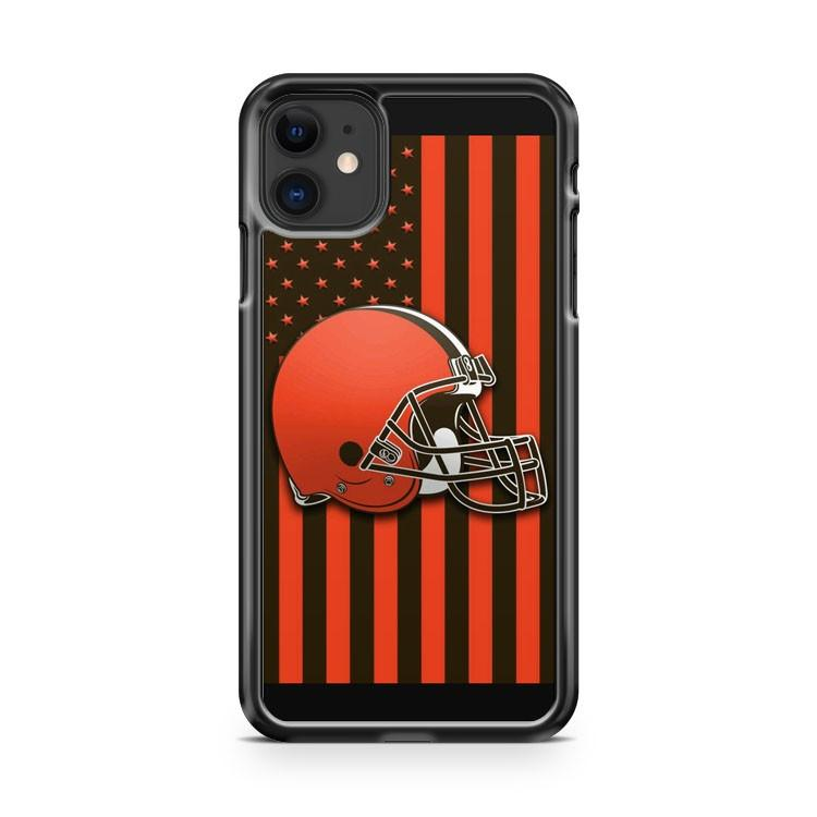 Cleveland Browns 3 iphone 5/6/7/8/X/XS/XR/11 pro case cover
