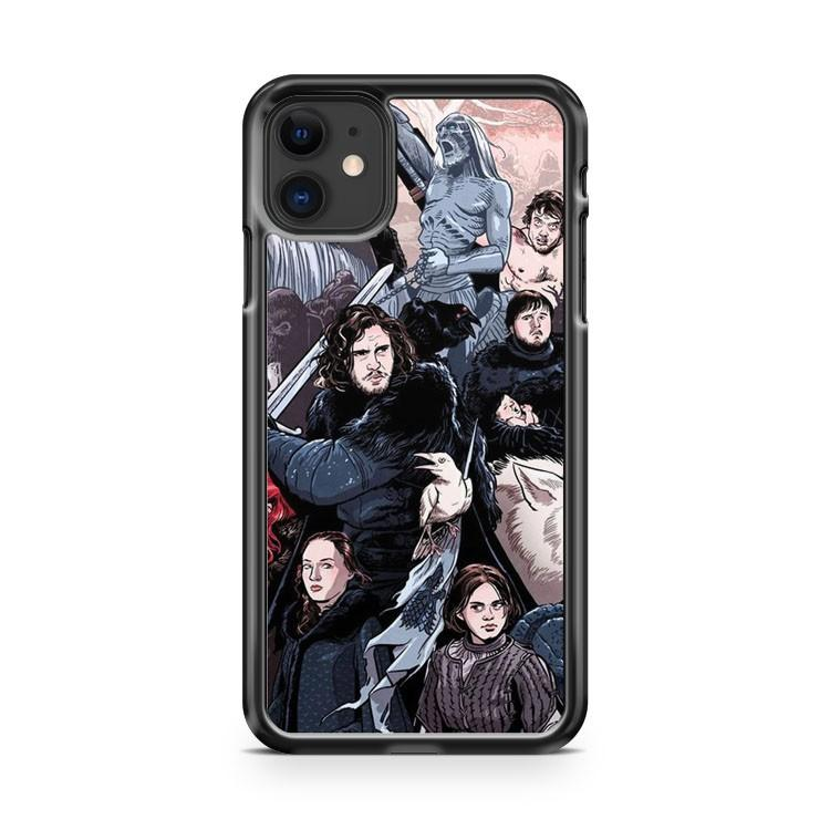 Game of Thrones Art 1 iphone 5/6/7/8/X/XS/XR/11 pro case cover