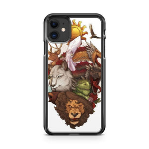 Game of Thrones Art 5 iphone 5/6/7/8/X/XS/XR/11 pro case cover