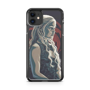 Game of Thrones Daenerys iphone 5/6/7/8/X/XS/XR/11 pro case cover