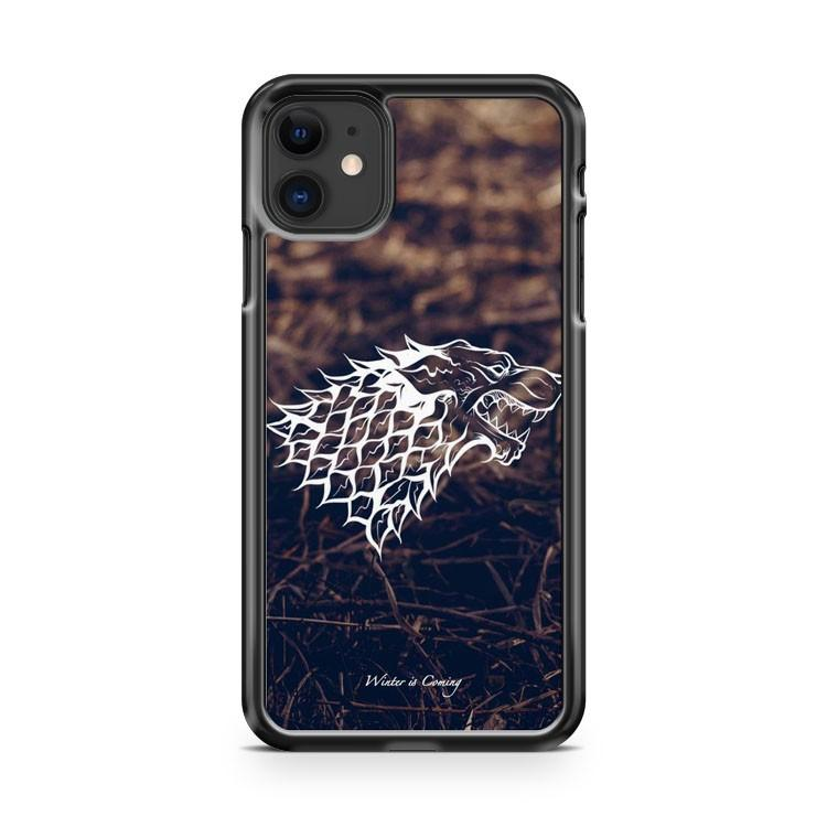 Game of Thrones Winter is Coming 2 iphone 5/6/7/8/X/XS/XR/11 pro case cover