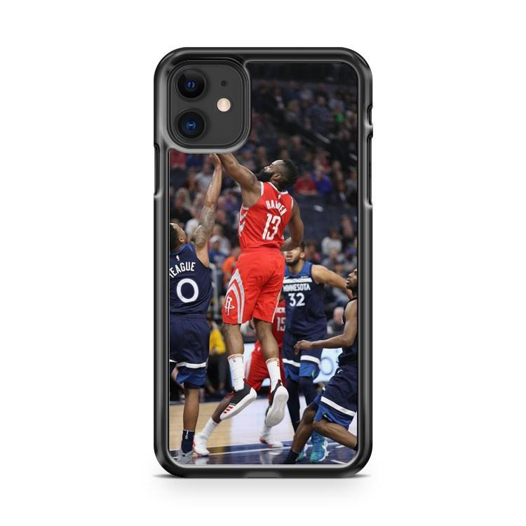 James Harden Houston Rockets 3 iphone 5/6/7/8/X/XS/XR/11 pro case cover