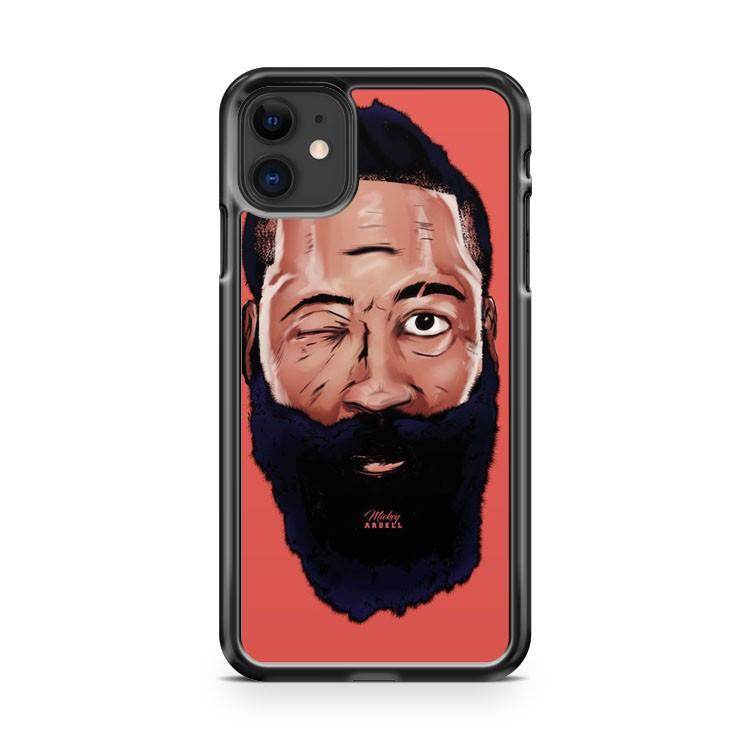 James Harden Houston Rockets iphone 5/6/7/8/X/XS/XR/11 pro case cover