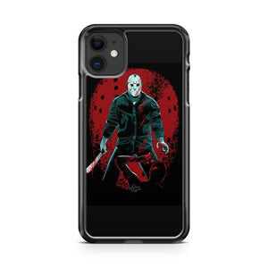 Jason Friday 13th Hockey Mask 3 iphone 5/6/7/8/X/XS/XR/11 pro case cover