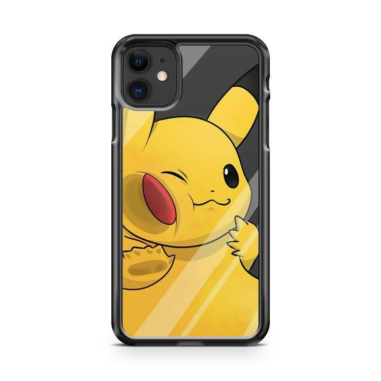 Pokemon Pikachu 3 iphone 5/6/7/8/X/XS/XR/11 pro case cover
