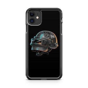 PUBG Helmet iphone 5/6/7/8/X/XS/XR/11 pro case cover