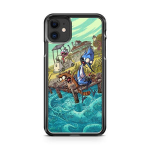 Regular Show 1 iphone 5/6/7/8/X/XS/XR/11 pro case cover