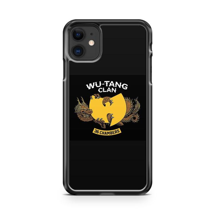 Wu Tang Clan 36 Chambers iphone 5/6/7/8/X/XS/XR/11 pro case cover