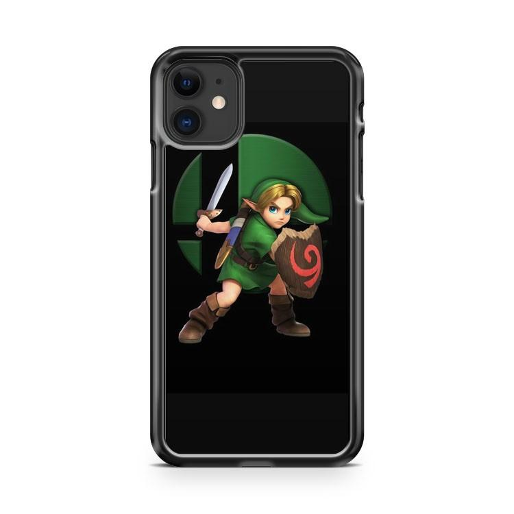 Young Link SSB Super Smash Brothers iphone 5/6/7/8/X/XS/XR/11 pro case cover