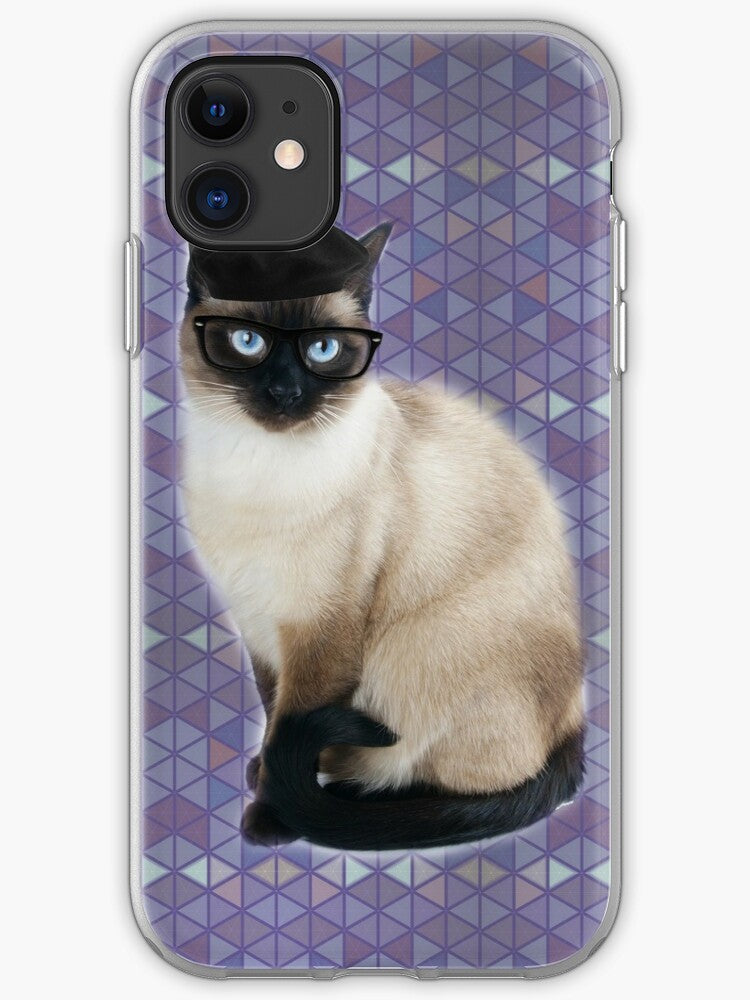 Whiskers And Pipe iPhone 11 case