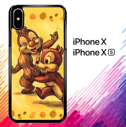 Chip n Dale Childhood Memories F0392 iPhone X, XS case