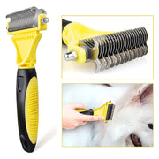 Double-sided Pet Cat Dog Comb Brush